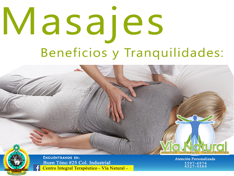 masajes beneficios y tranqui