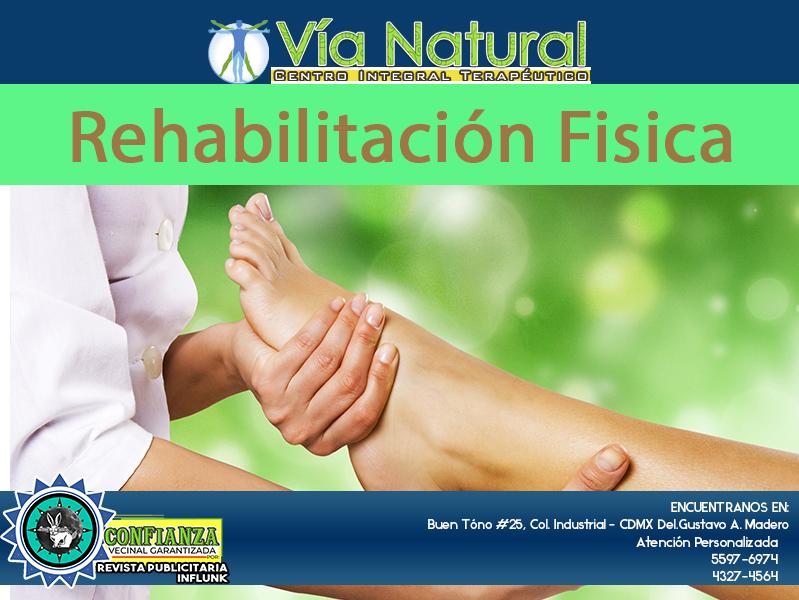 rehabilitación fisica